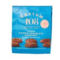 Rhythm 108 double chocolate hazelnut biscuit