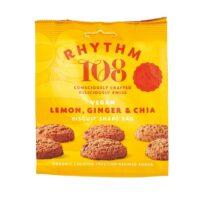 Rhythm 108 lemon ginger & chia biscuit