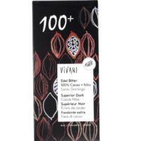 Vivani superior dark cocoa nibs 100