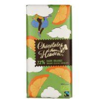 Chocolates From Heaven 72% dark orange