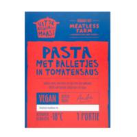 Uit de Keuken van Maass pasta met balletjes in tomatensaus