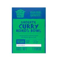 Uit de Keuken van Maass groente curry kokos bowl