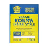 Uit de Keuken van Maass veggie korma Indian style