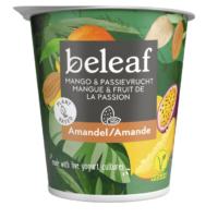 Beleaf amandelyoghurt mango & passievrucht