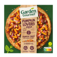 Garden Gourmet pumpkin lovers pizza