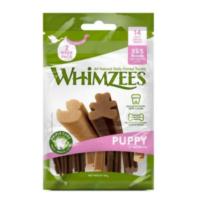 Whimzees puppy dental sticks