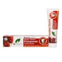 Dr. Organic granaatappel tandpasta
