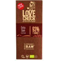 Lovechock raw extra dark 93%
