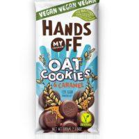Hands Off oat cookies & caramel