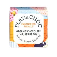 PLAY in CHOC organic chocolate + surprise toy