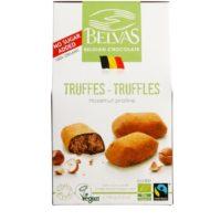 Belvas truffels hazelnut praline