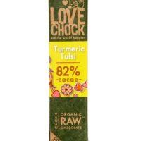 Lovechock raw turmeric tulsi 82%