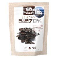 Chocolatemakers zeiltjes puur 70%