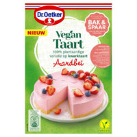 Dr. Oetker vegan taart aardbei