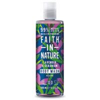 Faith in Nature body wash lavendel & geranium