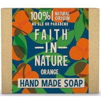 Faith in Nature zeep met sinaasappel