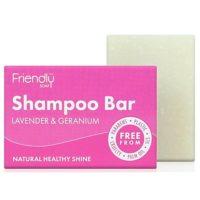 Friendlÿ shampoo bar met lavendel & geranium