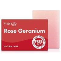 Friendlÿ zeep met roosgeranium