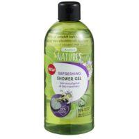 Natures refreshing shower gel