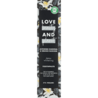 Love Beauty and Planet activated charcoal and orange blossom detox whitening tandpasta