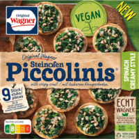 Wagner piccolinis spinach creamy style