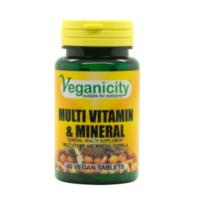 Veganicity multi vitamin & mineral
