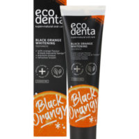 Ecodenta black orange tandpasta