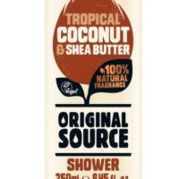 Original Source shower gel coconut & shea butter