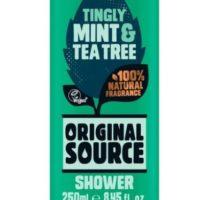 Original Source shower gel mint & tea tree