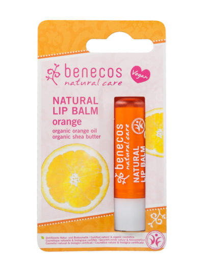 Benecos lippenbalsem orange