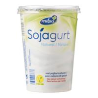 Milsa sojagurt naturel