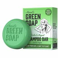 Marcel's green soap shampoo bar tonka & muguet