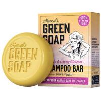 Marcel's green soap shampoo bar vanilla & cherry blossom