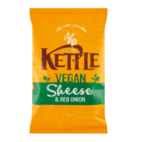 Kettle vegan sheese & red onion