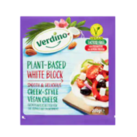 Verdino plant-based white block greek-style vegan cheese