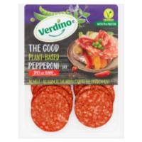 Verdino the good plant-based pepperoni