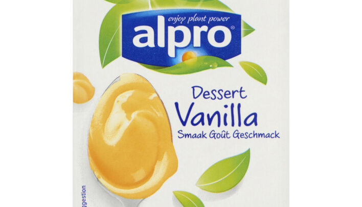 Alpro dessert vanilla