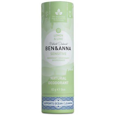 Ben & Anna deodorant lemon & lime sensitive