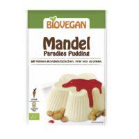 Biovegan amandel pudding