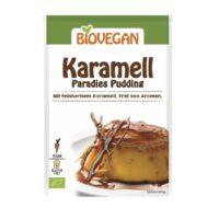 Biovegan karamel pudding