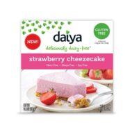Daiya strawberry cheezecake