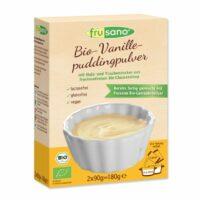 Frusano bio vanille puddingpoeder