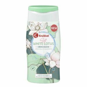 Kruidvat crème douche white lotus