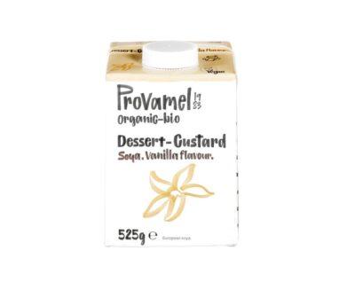 Provamel dessert-custard vanilla