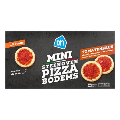 AH mini steenoven pizzabodems