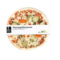 Ekocuisine pizza gegrilde groente