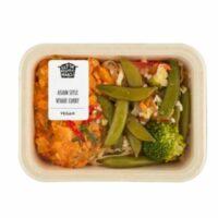 Uit de keuken van Maass asian style spicy veggie curry