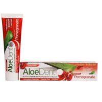 Aloe Dent tandpasta triple action pomegrenate