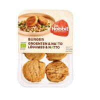 De Hobbit burger groenten & natto