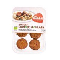 De Hobbit burger lupine goulash